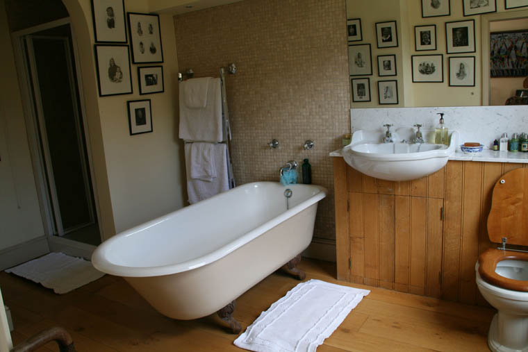The old rectory catfield norfolk for H2o bathroom design company